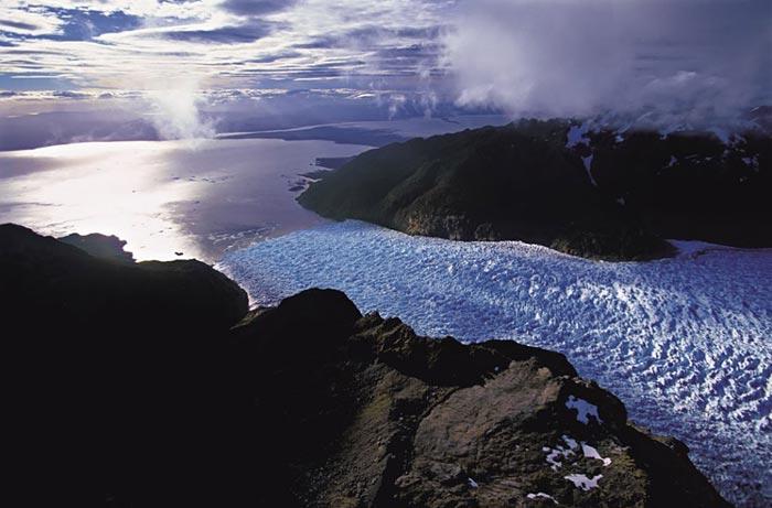 San Rafael lagoon, Chile