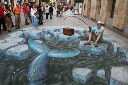 Amazing-3D-Sidewalk-Art-arctic-whale