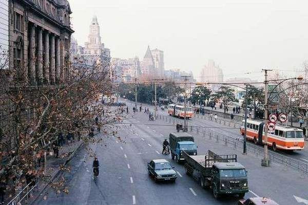 1980s Shanghai Bund