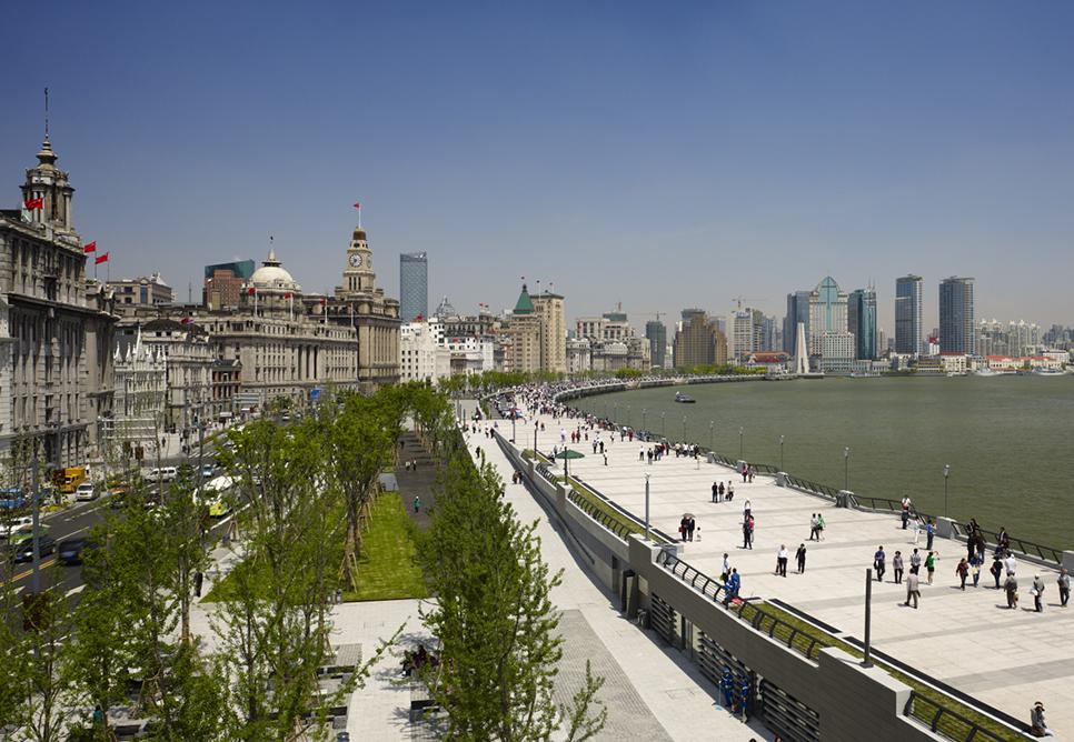 Today's Shanghai Bund
