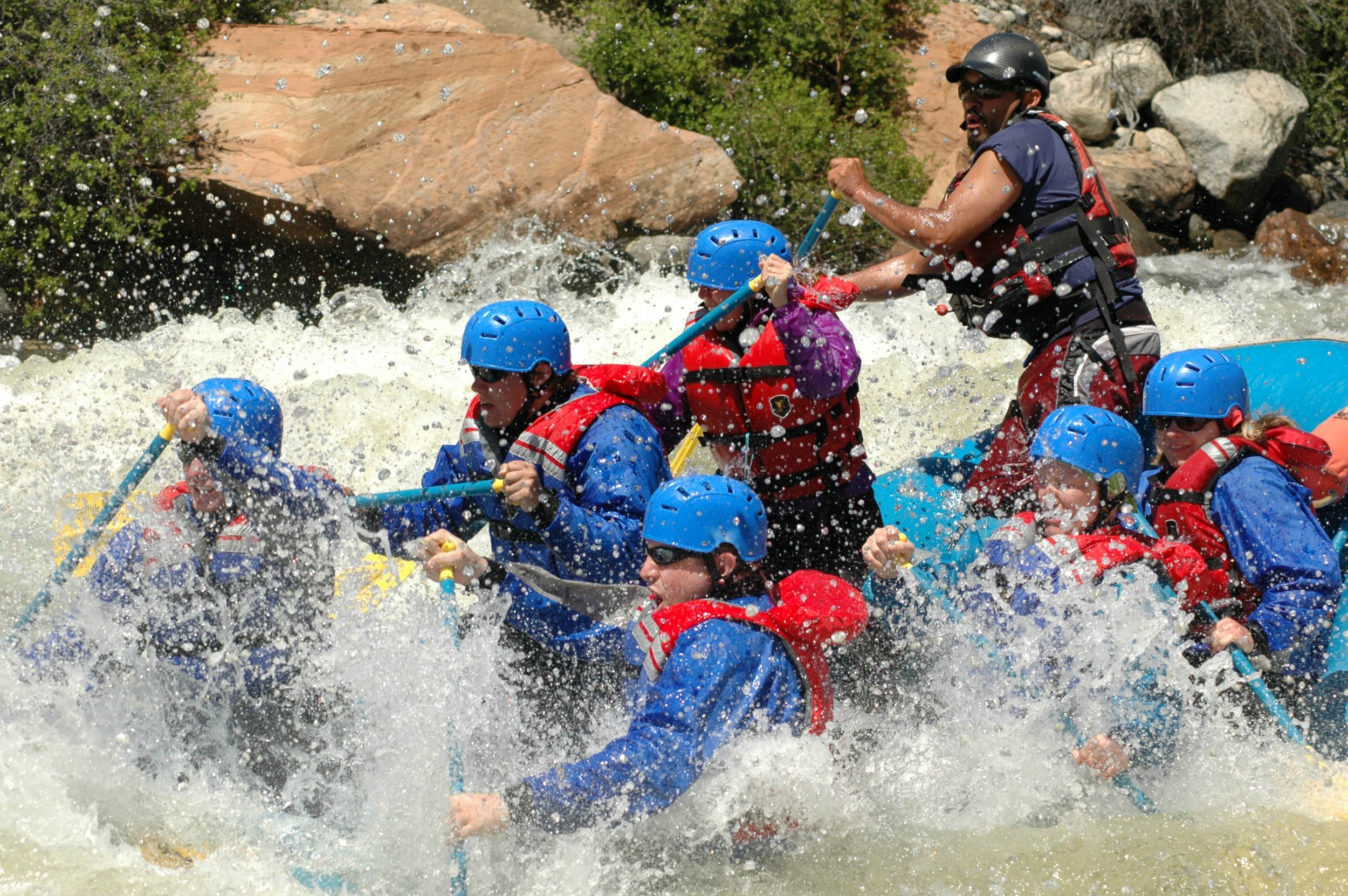 Whitewater Rafting, the real adventure