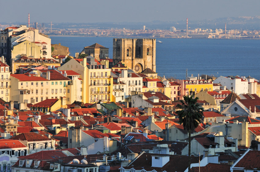 Lisbon, Portugal, the starting-point