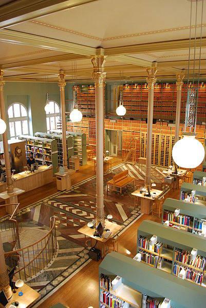 biblioteca parlamento svedese stoccolma zingarate.com