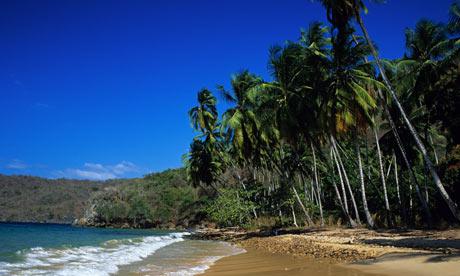 Mochima-National-Park-Conoma beach venezuela theguardian.com