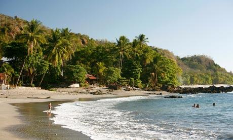 Montezuma-beach-Costa-Rica theguardian.com
