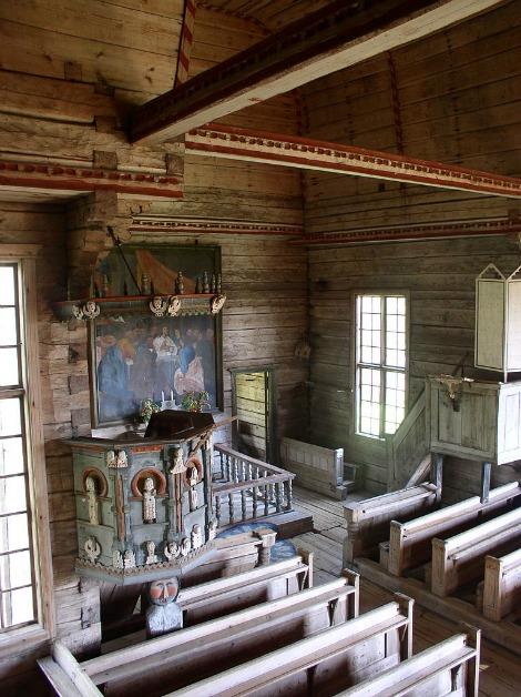 antica chiesa di petäjävesi 14