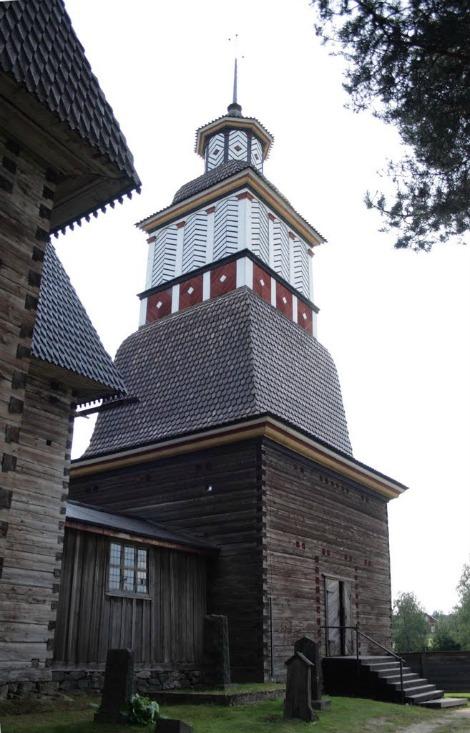 antica chiesa di petäjävesi 16