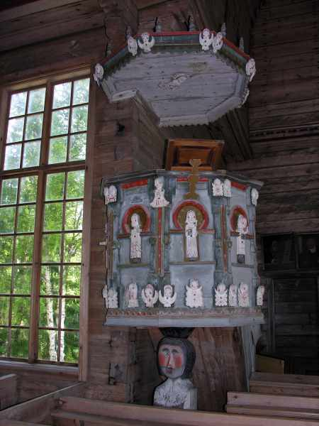 antica chiesa di petäjävesi 7