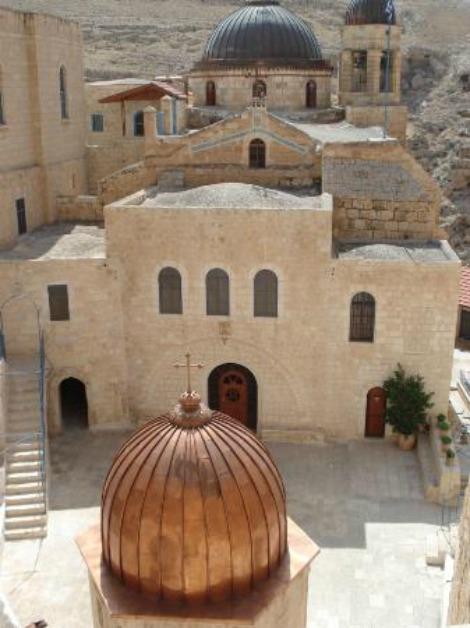 monastero di mar saba israele 4 ingrandire