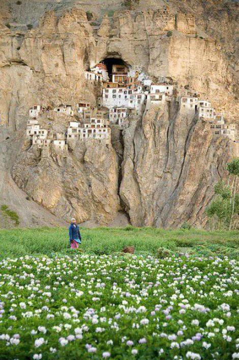 Monastero-di-Phuktal-India 3