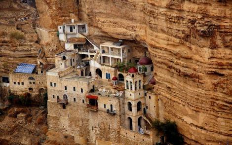 Monastero di san giorgio in kotziba israele 2 tagliare