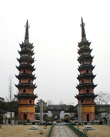 suzhou 21 twin pagodas