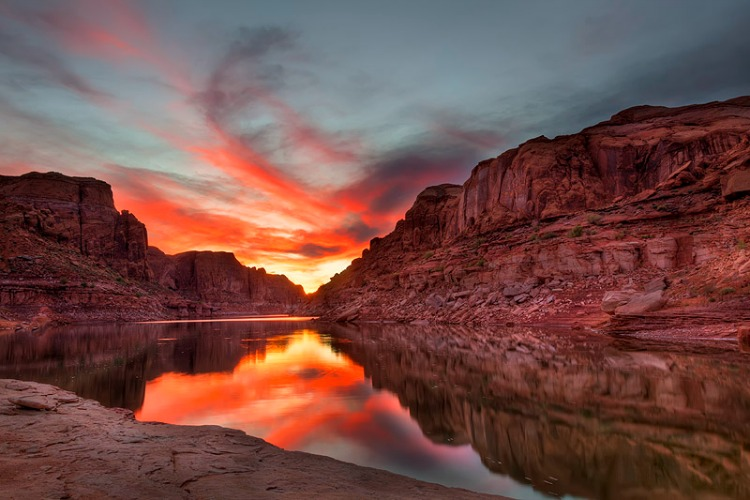 a copertina Lake-Powell-Sunset