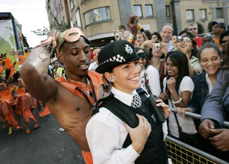 Notting Hill Carnival in London.