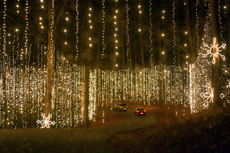 Christmas Lights Callaway Gardens By Showlinephotodotcom The Golden Scope