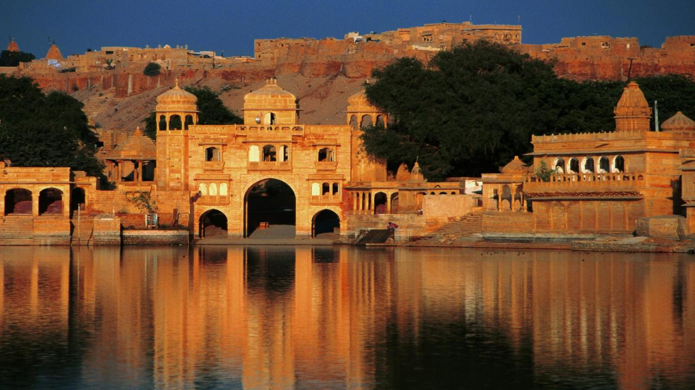 Splendid indian landscape wallpaper 1366x768 65652 the for Wallpapers for house wall in india