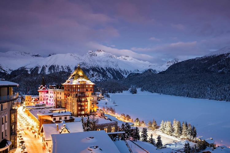 World's most luxurious ski resorts