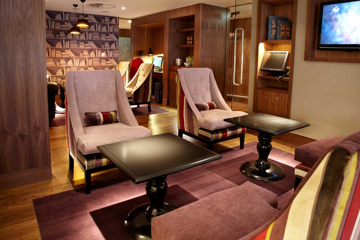 Luxurious airport lounges