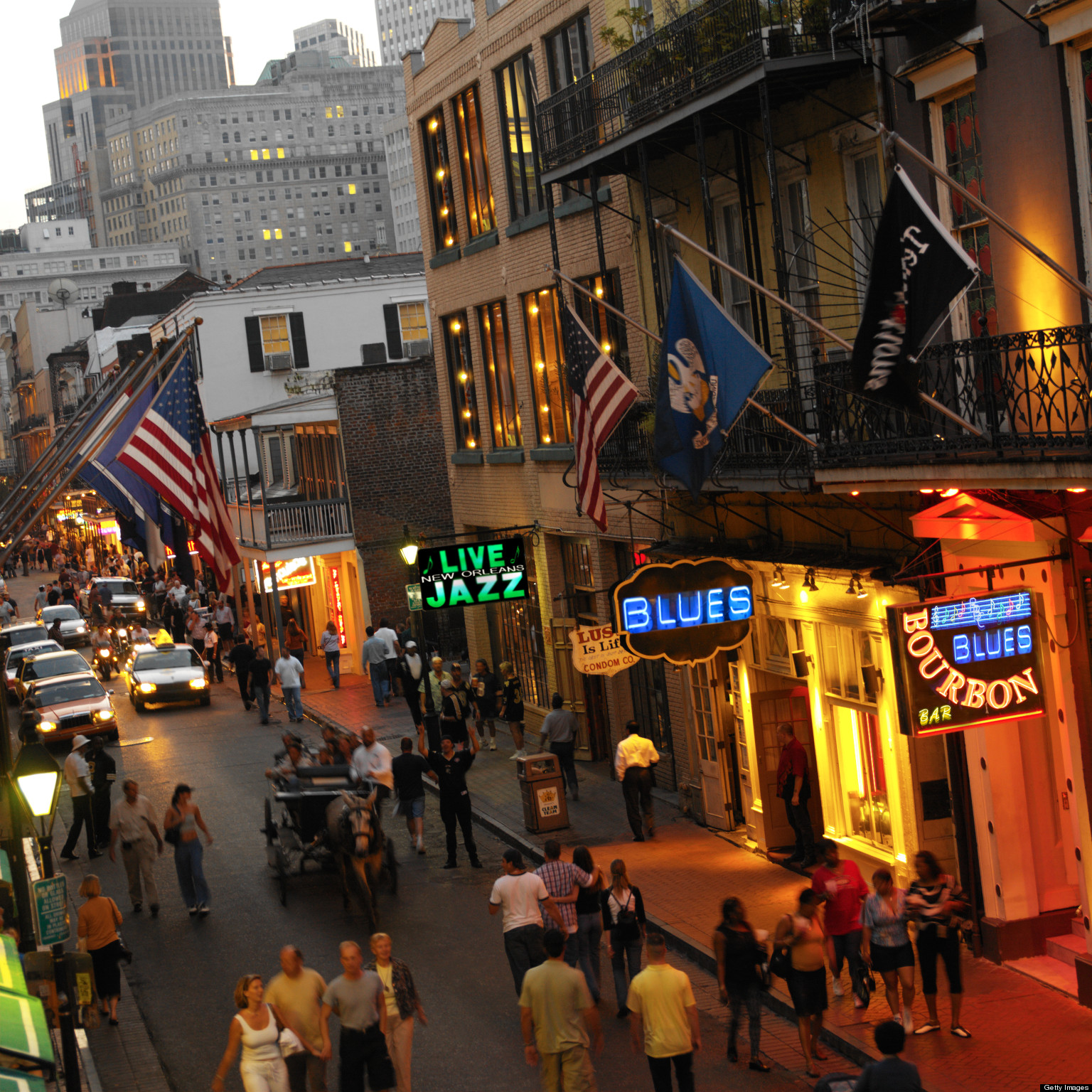 New Orleans French Quarter Bar Food