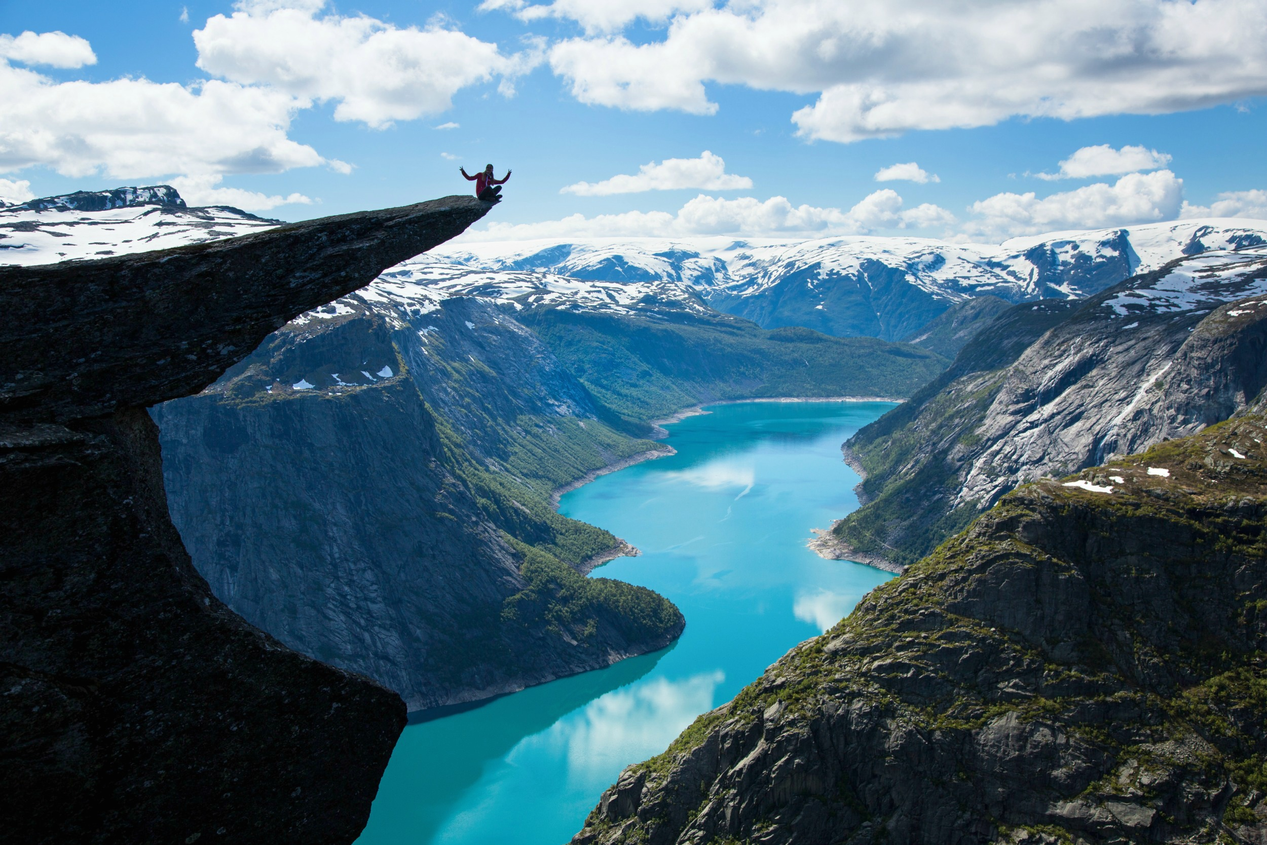 The wonderful Norwegian fjords