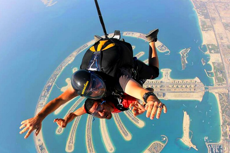 World's best places to skydive