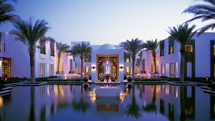 The Chedi Muscat watergarden - Oman, amazing holiday