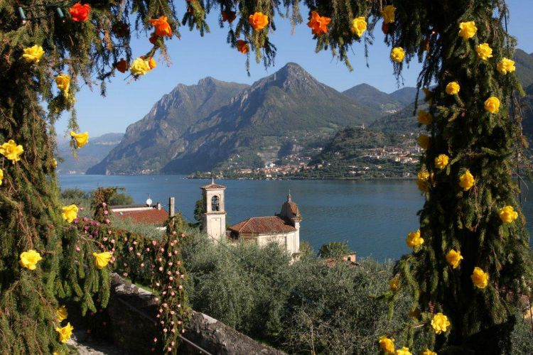 The Flower Festival in Monte Isola