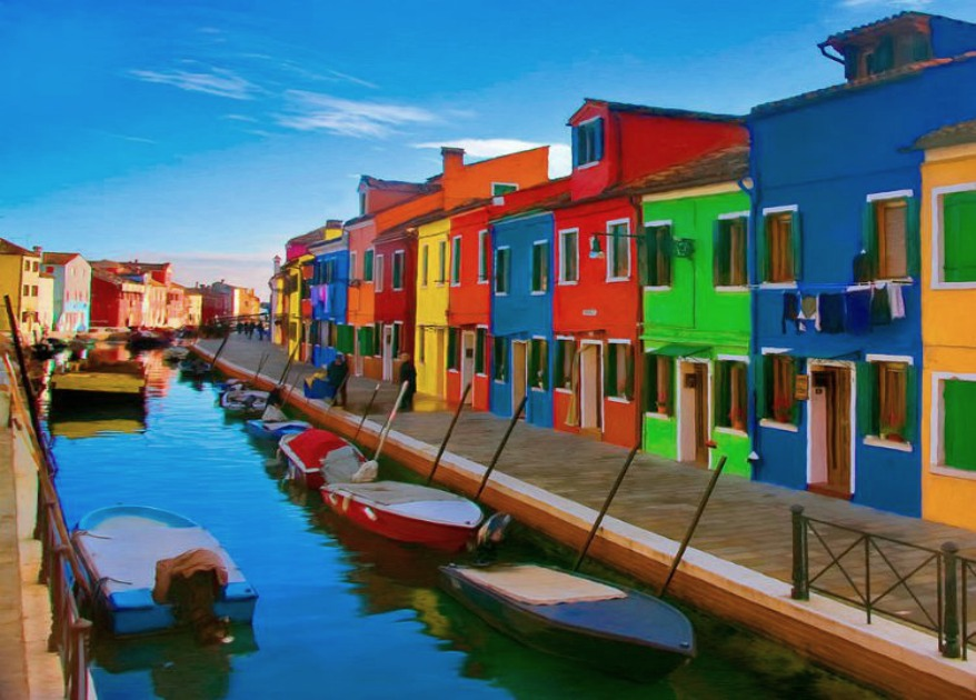 Burano, the island of colors