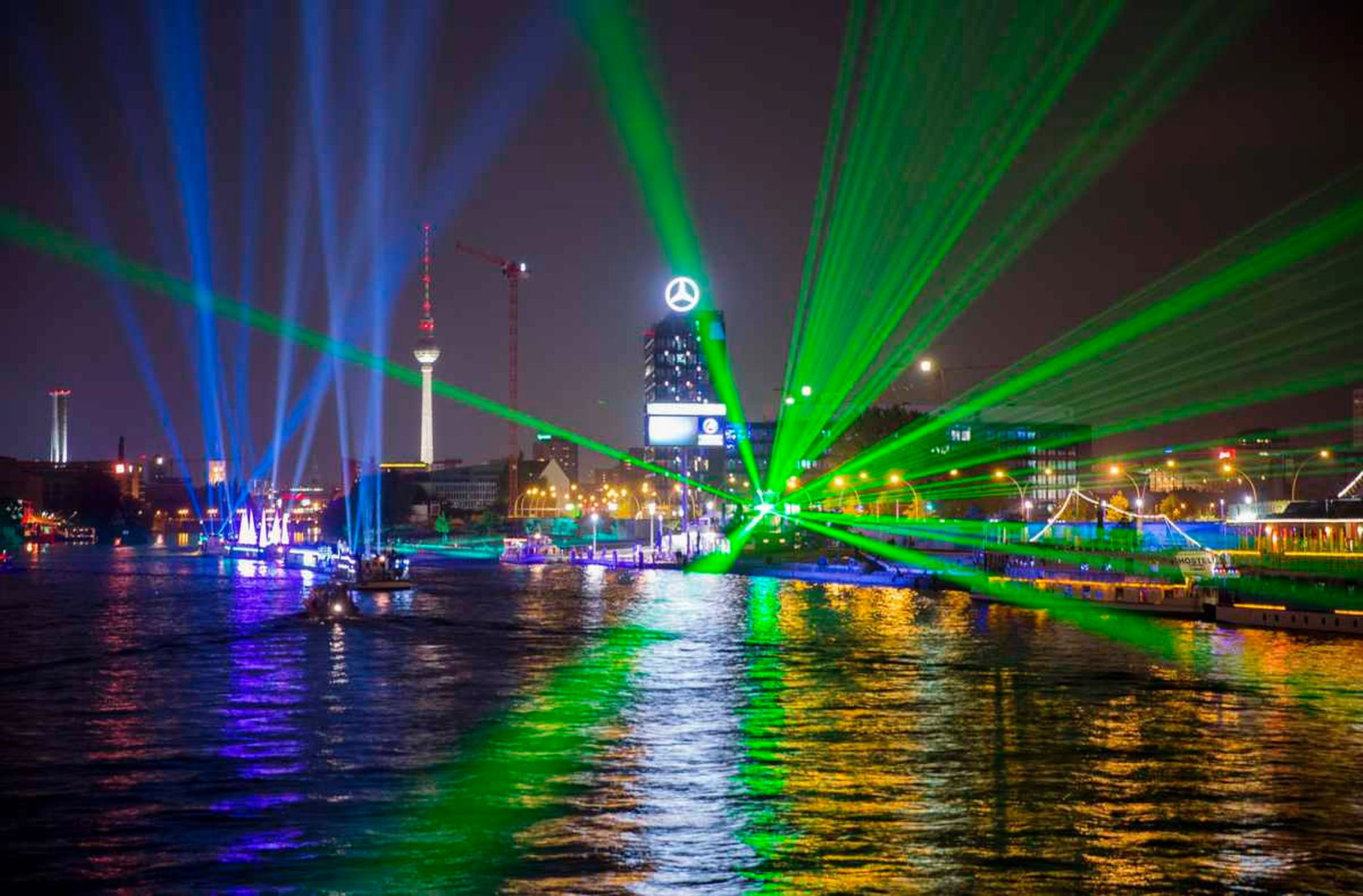 The Berlin Festival of Lights
