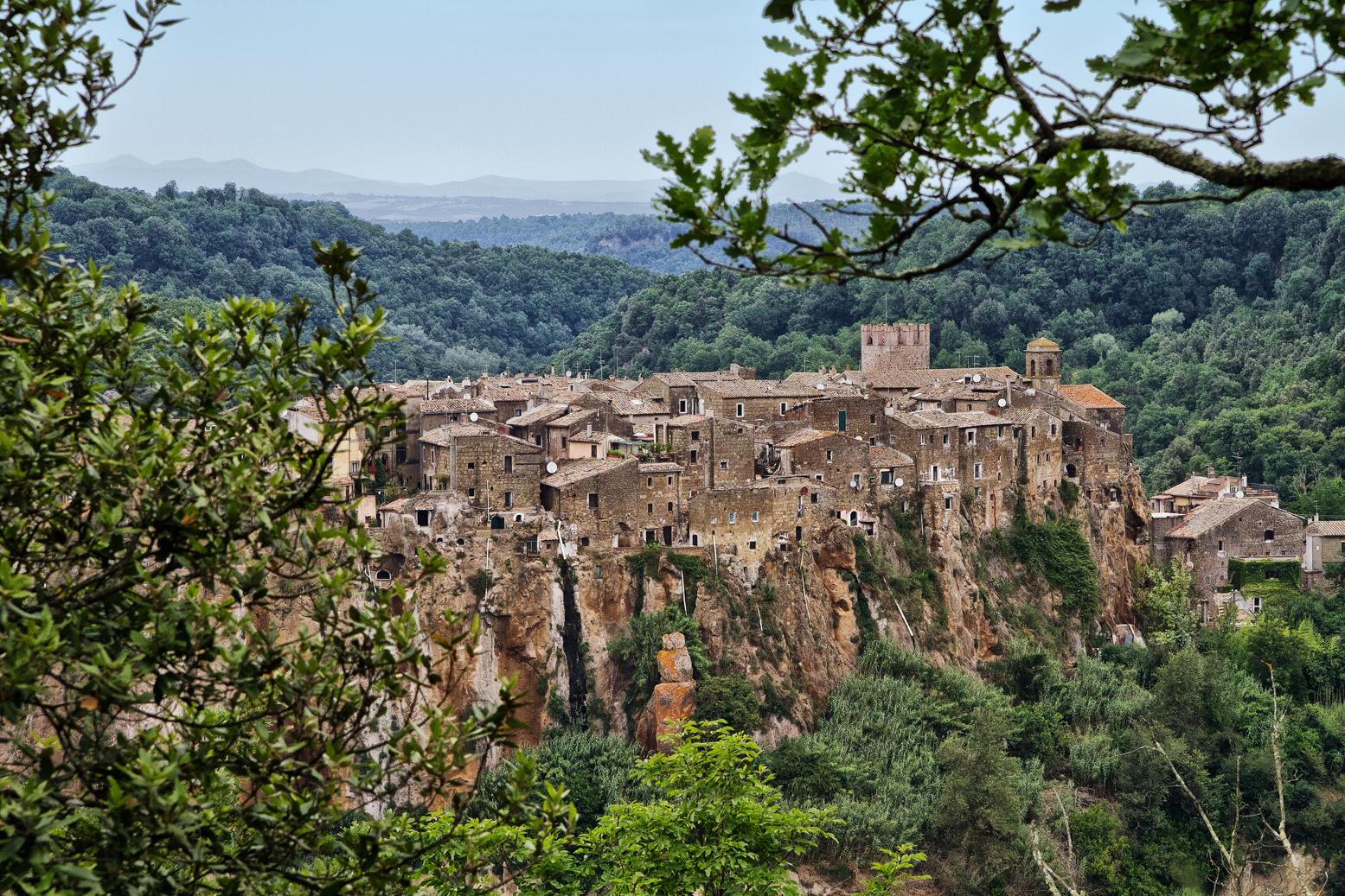 Il borgo medievale di Calcata