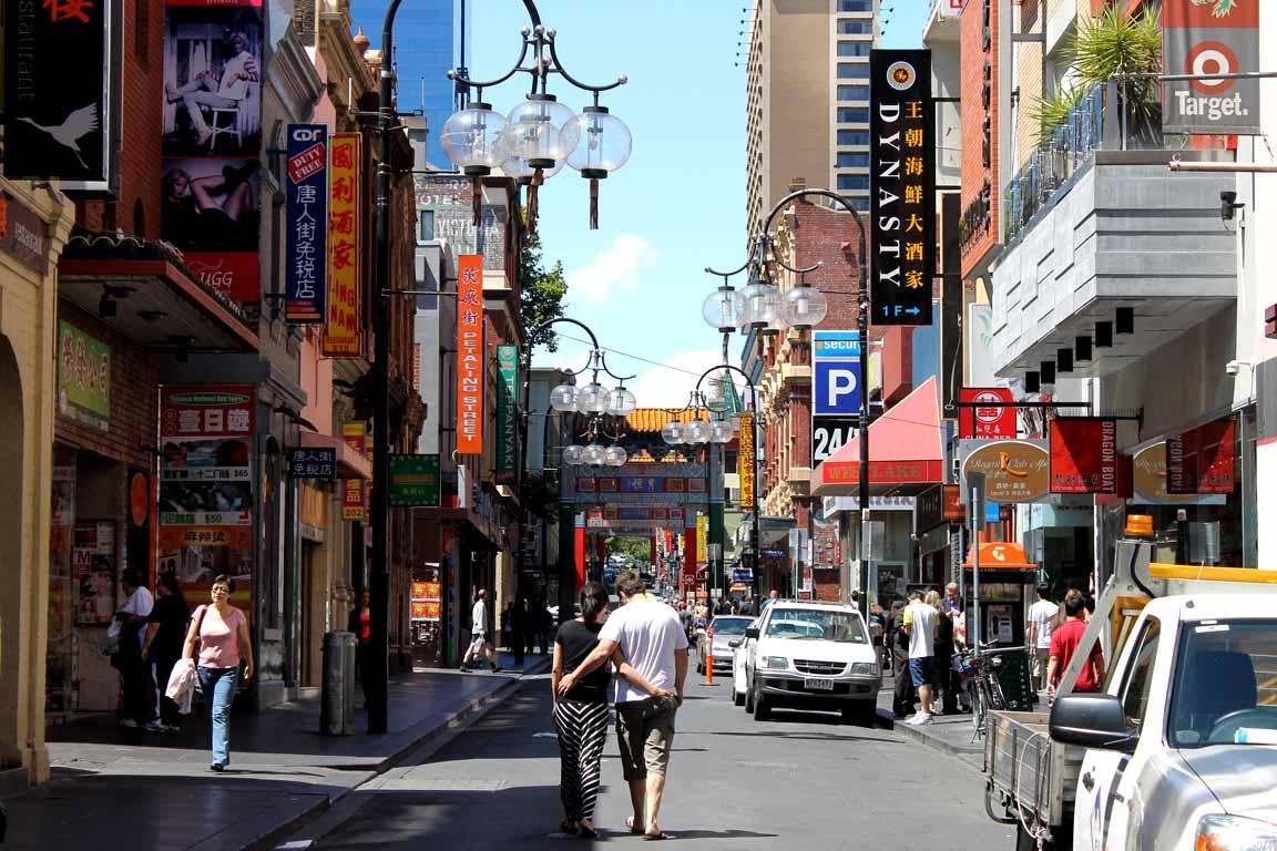 a copertina venerdì- chinatown in Melbourne