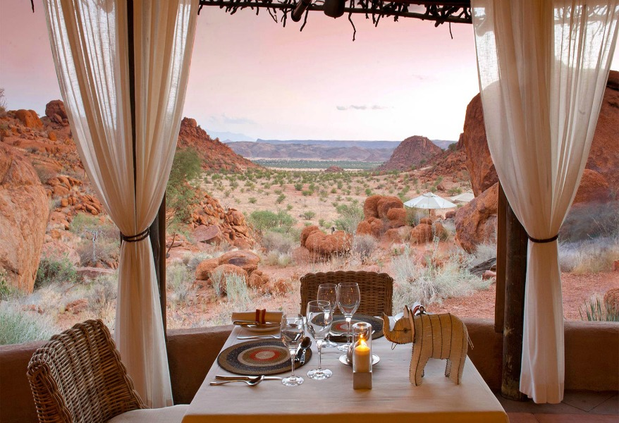 Luxury hotels in Namibia