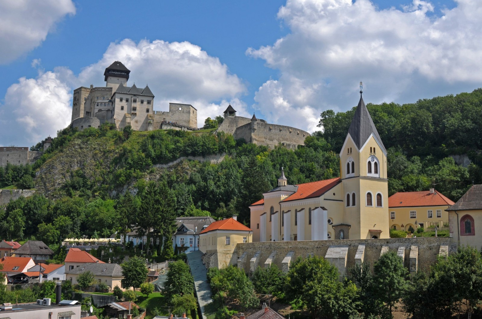 Trencin and its castle