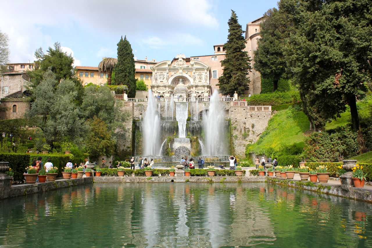The amazing Villa D'Este in Tivoli