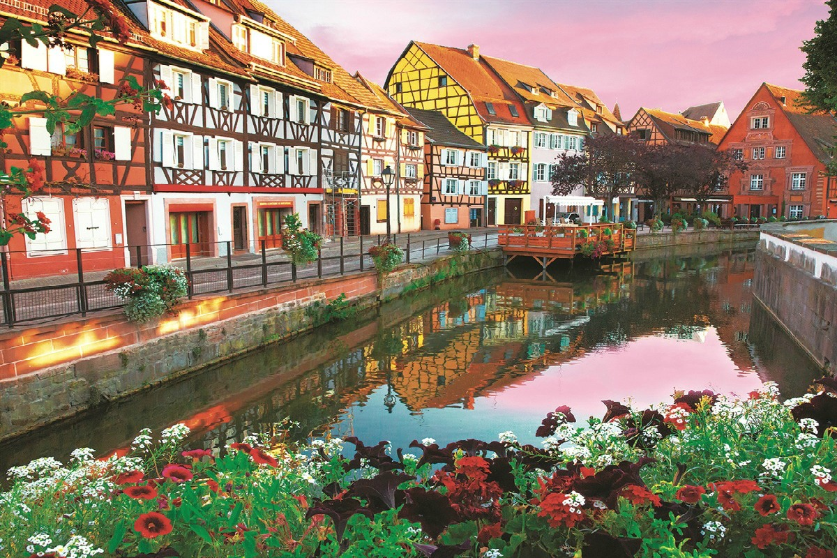 Colmar, the town of the colors