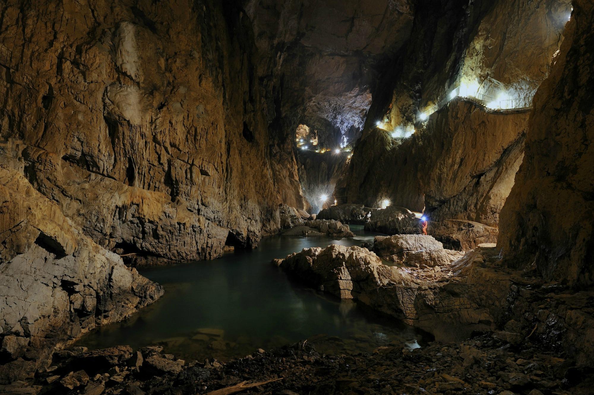 the Caves of Skocjan