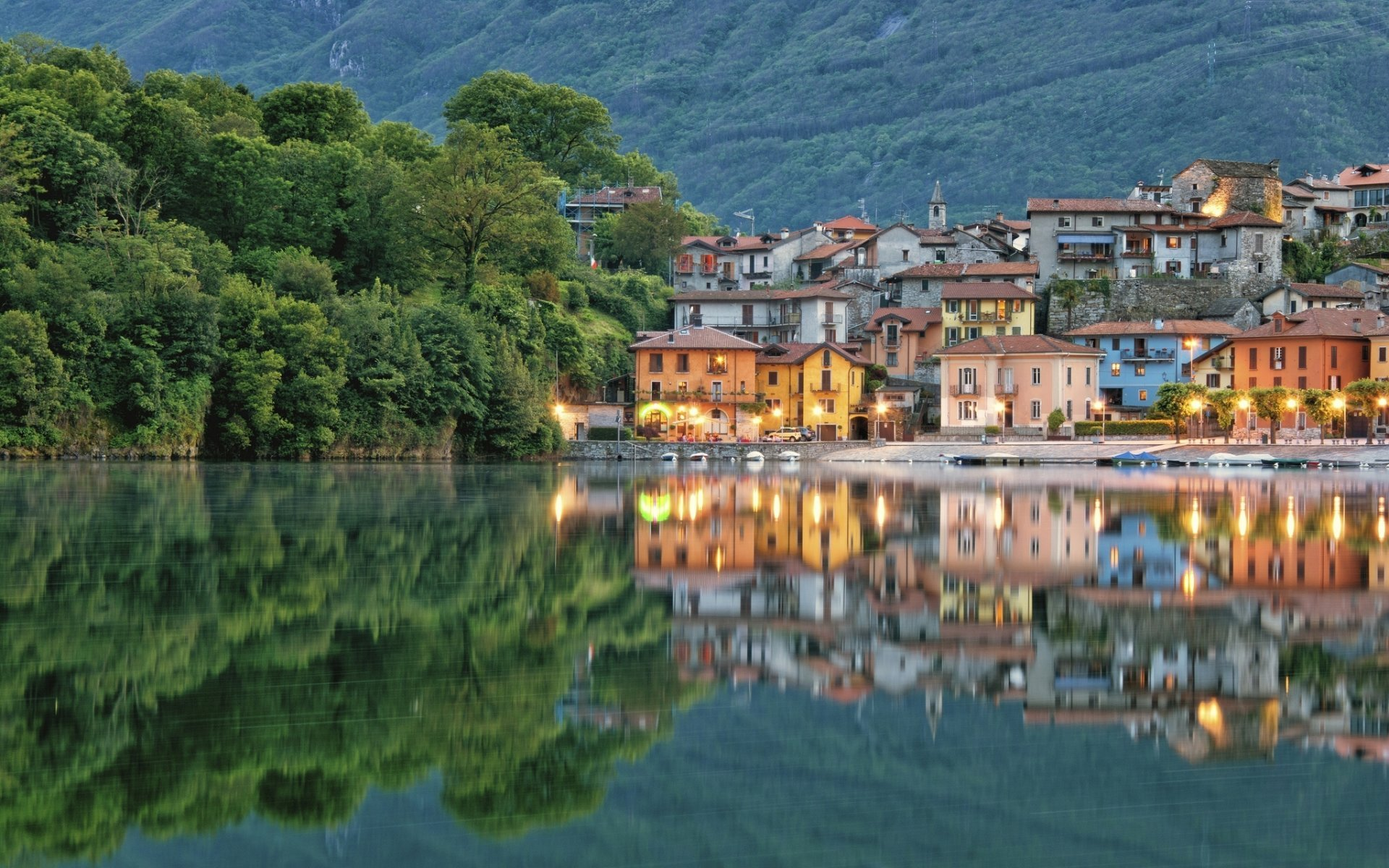 Mergozzo and its lake