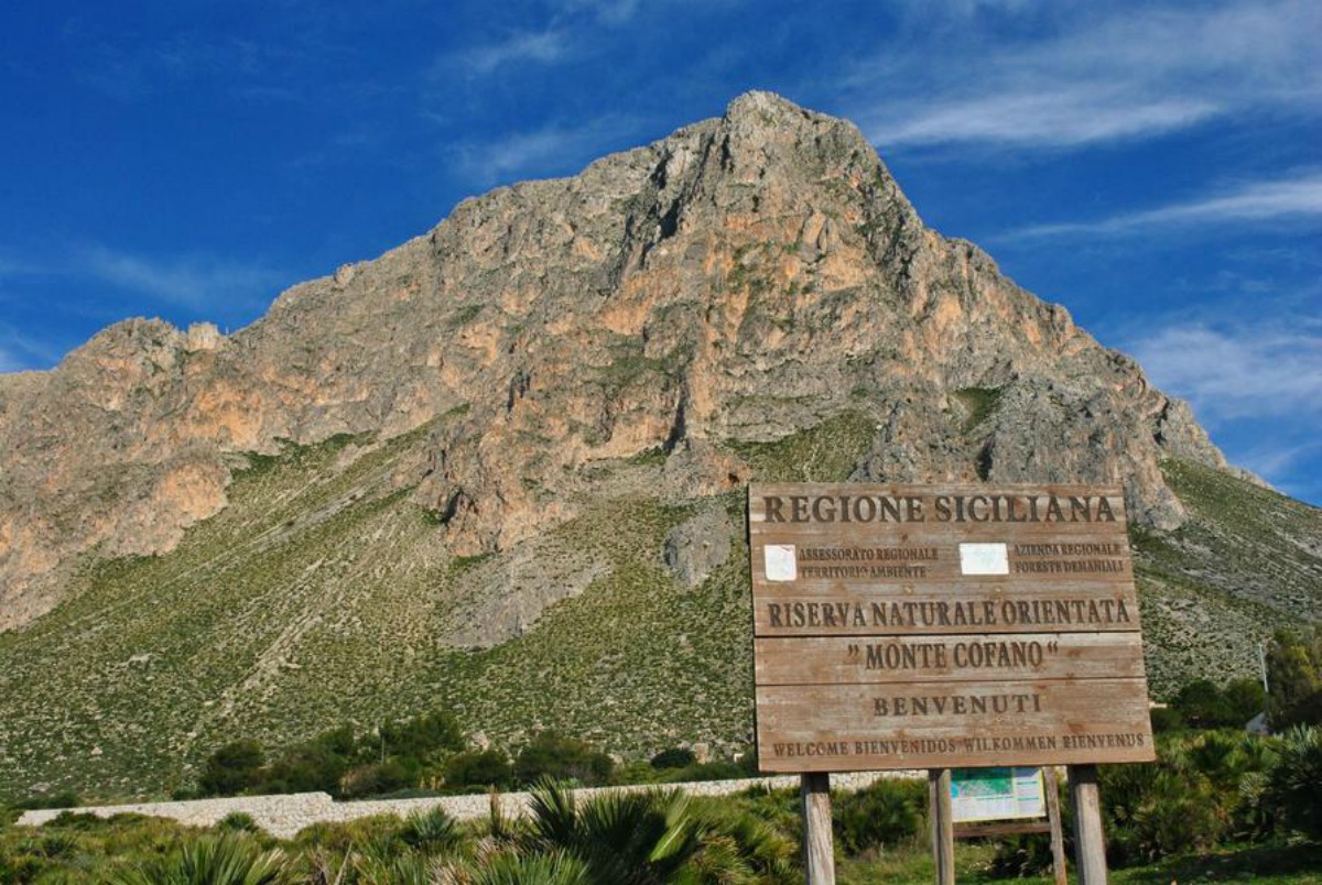 The Nature Reserve of Mount Cofano