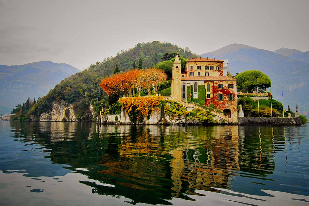 La stupenda Villa del Balbianello