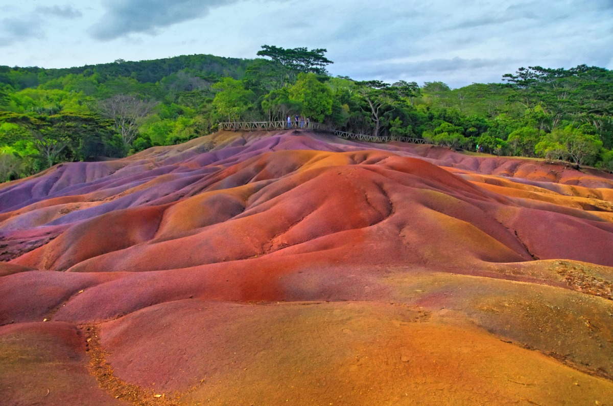 The Lands of the 7 Colors in Chamarel