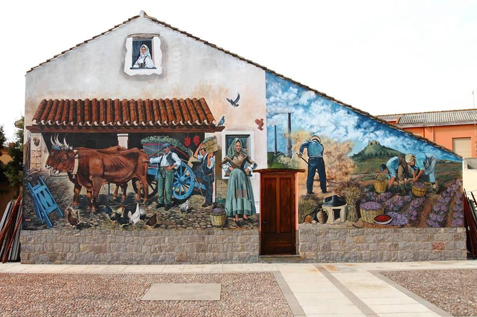 San Gavino Monreale e la sua street art