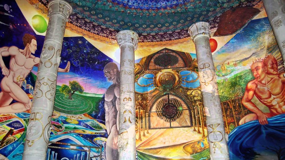 Damanhur, tempio dell'umanità
