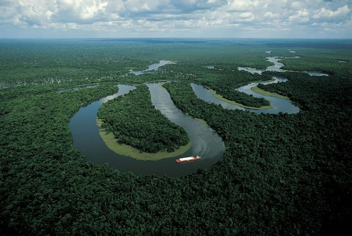 Amazon River, Manaus, Brazil