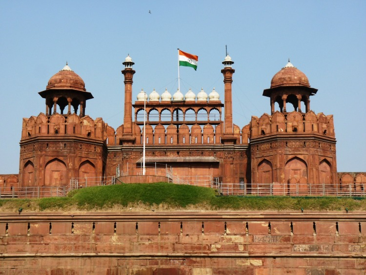 0 copertina sabato India Delhi Red Fort